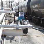 Food rail tank car mixing system