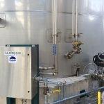 sanitary liquid food mixer