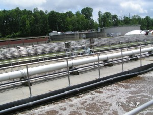 Wastewater Equalization Tank Mixing System