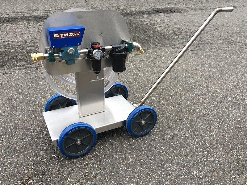 Crush Cart Tank Mixer